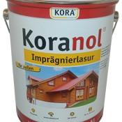Koranol 12,44EUR/L Imprägnierlasur 5 Liter Holzschutzlasur Farbton: Teak Lasur Holzlasur 2 in 1 außen
